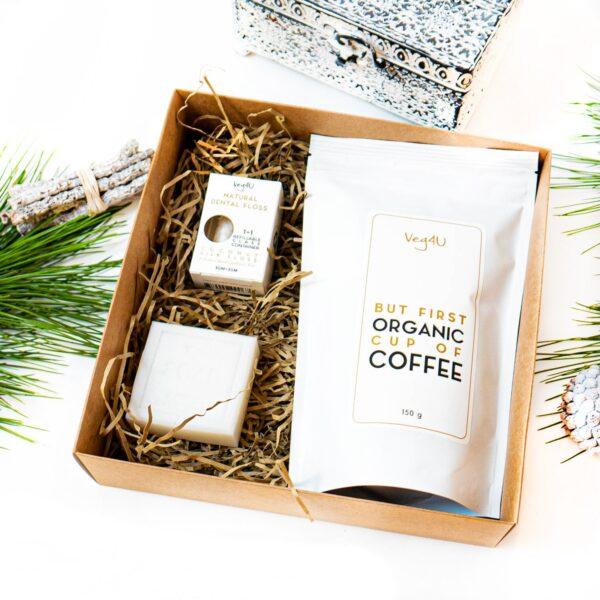 Juoda Organic kava, Natūralus dantų siūlas, Natūralus muilas