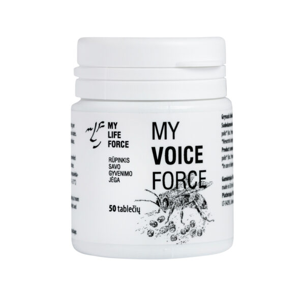 Maisto papildas My Voice Force