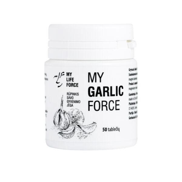 Maisto papildas my GARLIC force